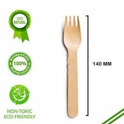 140mm Wooden Fork