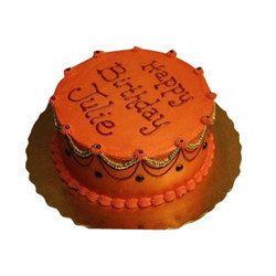 EmpireOrange Birthday Cake, Packaging Type : Carton Box