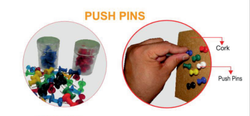 Plastic Notice Board Push Pin