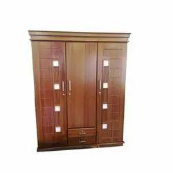 Hinged Brown Wooden Almirah