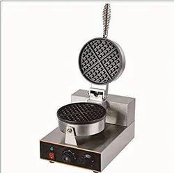 Round Waffle Baking Machine