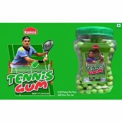 Mint Flavour Tennis Ball Bubble Gum