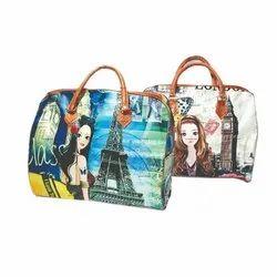 Handbags Pu Leather Lady Hand Bag, 110 Gram