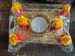 Deepak Plastic Decorative Diwali deepaks, Finish Type: Meenakari