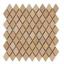 Capstona Stone Mosaics Diamond Desert Tiles