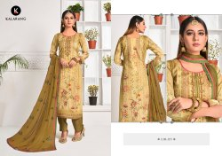 Heritage Vol -2 Jam Silk Digital Printed With Designer Work Salwar Suits