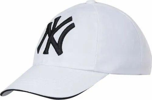 c154a846ec2 NY White Baseball Cap at Rs 80  piece