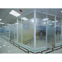Modular Aluminum Single Glass Partition