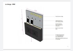 Wall Mounting Mobile Charging Station