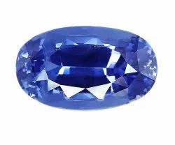 Flawless Oval Cut Natural Ceylon Blue Sapphire