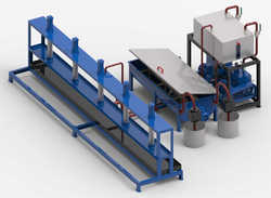 Parag Stator Impregnation Stand, Production Capacity: 100