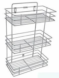 Steel Kitchen Rack (Triple) for Home