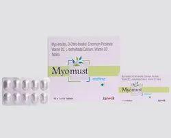Myo-Inositol, D-Chiro-Inositol, Chromium Picolinate, Vit D2, L-methylfolate Calcium, Vit D3 Tablets