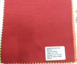 100% Polyester Micro Dot Knit Fabrics 180 GSM for T Shirt