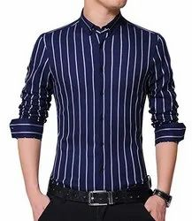 Sustainable Cotton Mens Striped Shirts
