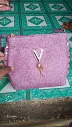 Leather Pink Handbag