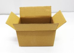 6x4x3.5 Inch Brown 3 Ply Packaging Corrugated Box