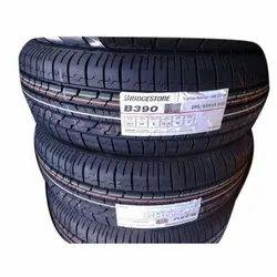 Rubber 15 Inch Bridgestone B390 Tubeless Car Tyre, Aspect Ratio: 65