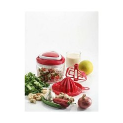 Ganesh Easy Pull 3-in-1 Plastic Chopper
