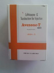 Ceftriaxone 1000mg and Tazobactum 125mg Injection