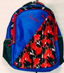 Polyester Printed Sky School Bag for Casual Backpack