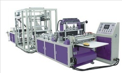 Fully Automatic Tridimensional Non Woven Bag Making Machine