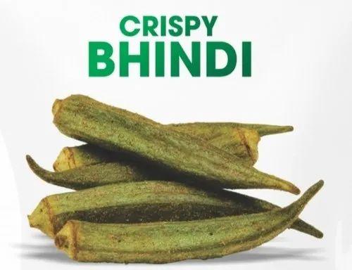 Green Vacuum Fried Bhindi Okra Rs 950 Kg Desai Brothers Enterprises Id 21538746630