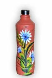Earthen Water Bottle ( 1 Liter )