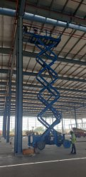 Aluminum Scissor Lift Ladder