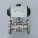SS Ball Valves with Pneumatic Rotary Actuator