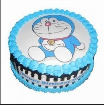 Doraemon Cake Flavor Any
