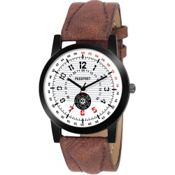 Passport Gents Leather Watch