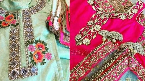 178bf948d6d092 Chanderi And Cotton Formal Wear And Party Wear Ladies Designer Punjabi Salwar  Suit