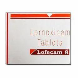 Lornoxicam Tablets 8 Mg