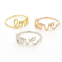 Fashion Love Rings