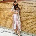 Style Kurti With Stripe Print Pant