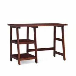 Shubham Industries Rectangular Wooden Study Table