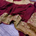 Banarasi Georgette Silk Saree