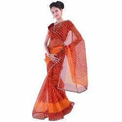 Traditional Lehariya Banarasi Saree 297