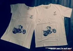 White Personalized Tees