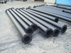 Round Ductile Iron Flanged Pipes, Size: 4 Inch And Above