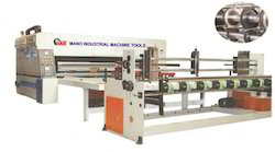 Chain Feed Two Color Flexo Printer Slotter Machine