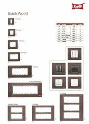 Black Wood Modular Plates