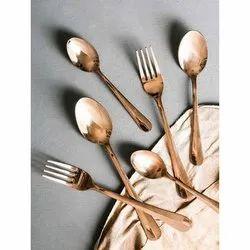 King Kopper KK-1164 Copper Cutlery Set for Kitchen