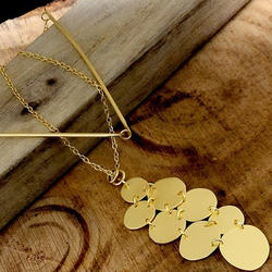 Ethnic Style Handmade Geometric Women Long Necklace
