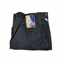 Semi Cotton Plain School Uniform Half Pants, Size: 28-32