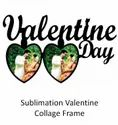 Sublimation Valentine Collage Frame