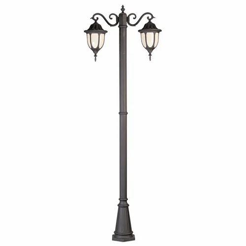 Dual Arm Lighting Lamp Post