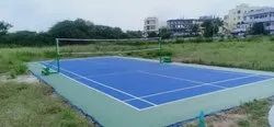 Professional Badminton Court