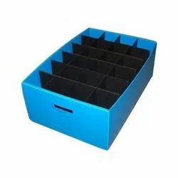 Polypropylene Plastic Corrugated Tray Boxes
